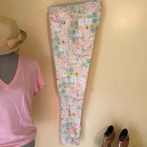 Arizona floral ankle Jeans